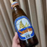 屋台のカオマンガイと地元酒のサトーサイアムのレビュー