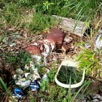 【山林清掃】山は意外にゴミだらけ。不法投棄ゴミの掃除から