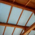 山林小屋の天井について考える。