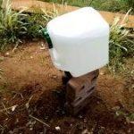 水回りを整える。井戸掘り後の課題