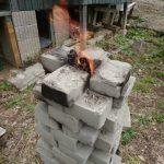 【自作レンガ】レンガを自分で焼いて焼成煉瓦を作成してみる