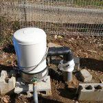 井戸モーターの目隠しを作成してみる。