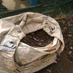 井戸掘りの際に出た残土の処理の仕方