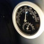 湿度95%。サンバー荷室はほぼ水の中。