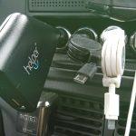 ThinkPad13をシガーソケットで充電できるアダプター