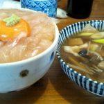 【八戸ランチ】みなと食堂の平目の漬け丼【青森】