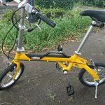 タイヤ径は大きいのにしろ!折り畳み自転車を選ぶときの注意点