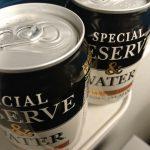 【居酒屋新幹線】新幹線ではビールではなく水割りウィスキーがおススメ