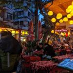 バンコク到着。カオサン通りでボッタクリ飯を食べる