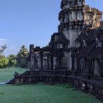 【南天竺】朝から世界遺産のアンコールワットを観光【落書き探し】