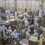 信玄餅の桔梗屋の工場に行ってみた。