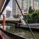 赤バスに水上バス。バンコク市内最後の観光【耳かき探し】
