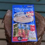 【コロニャ対策】本当のネコまんま「チャオちゅ~る」を食べてみた