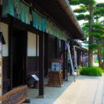 岡部宿を通り宿泊地の藤枝宿へ