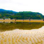 日本のウユニ塩湖!?香川県三豊市の父母ヶ浜の本当の姿