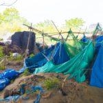 【東京の最下層社会】川の先住民が住む集落。六郷土手ホームレス村