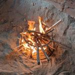やっぱり小屋といえば囲炉裏でしょ!小屋の囲炉裏、使ってみた。